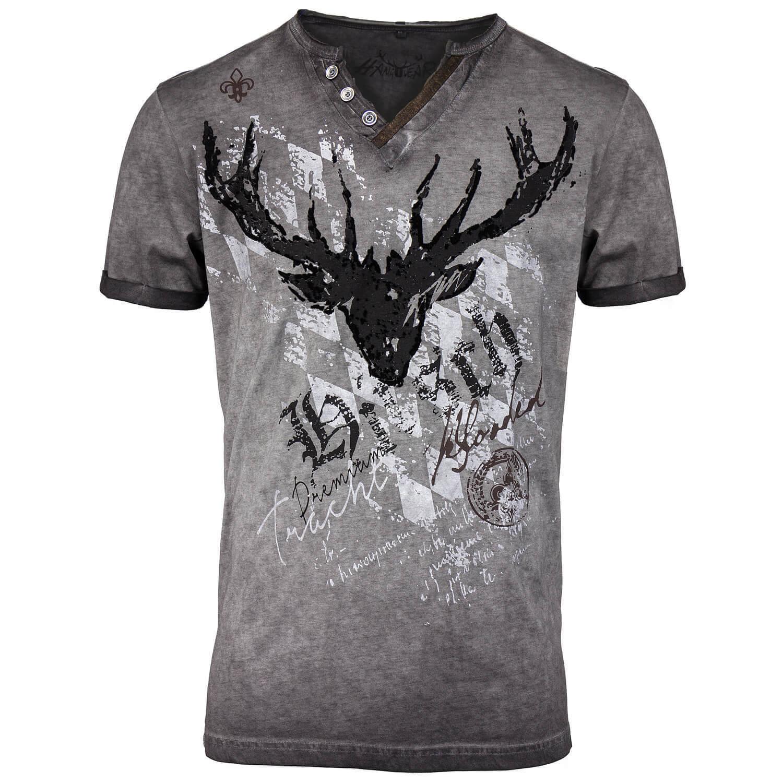 HangOwear Herren T-Shirt Trachtenshirt Tracht Oktoberfest Bayern Übergrößen