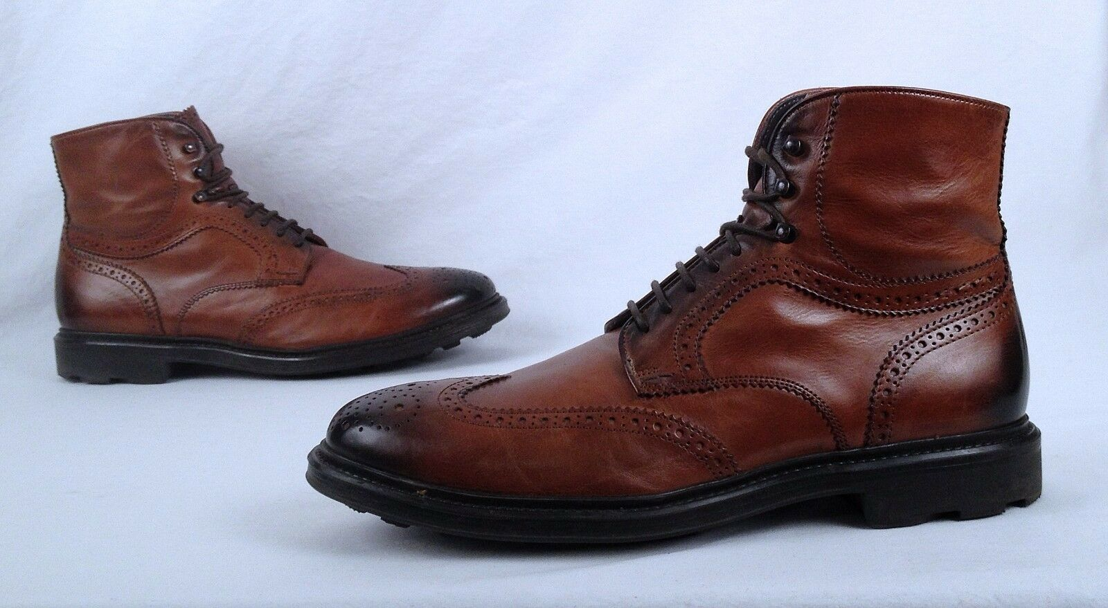 To Boot New York 'Hobson' Wingtip Boot- Cognac- Size 9.5 M-  450  (B30)