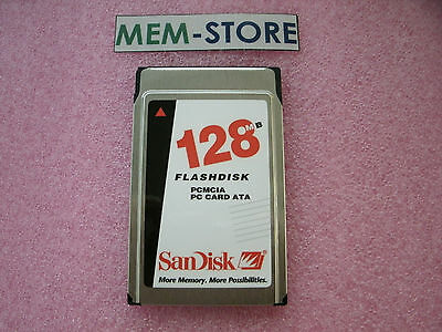 Sandisk p//n SDP3B-128 New MemoryX 128MB PCMCIA ATA Flash Card