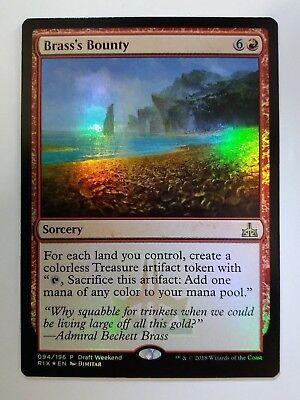 Mtg Magic Card # 13C62 Brass/'s Bounty