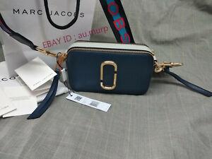 2d43eba22 NWT Marc Jacobs Snapshot Small Camera Bag Crossbody sea blue sales ...