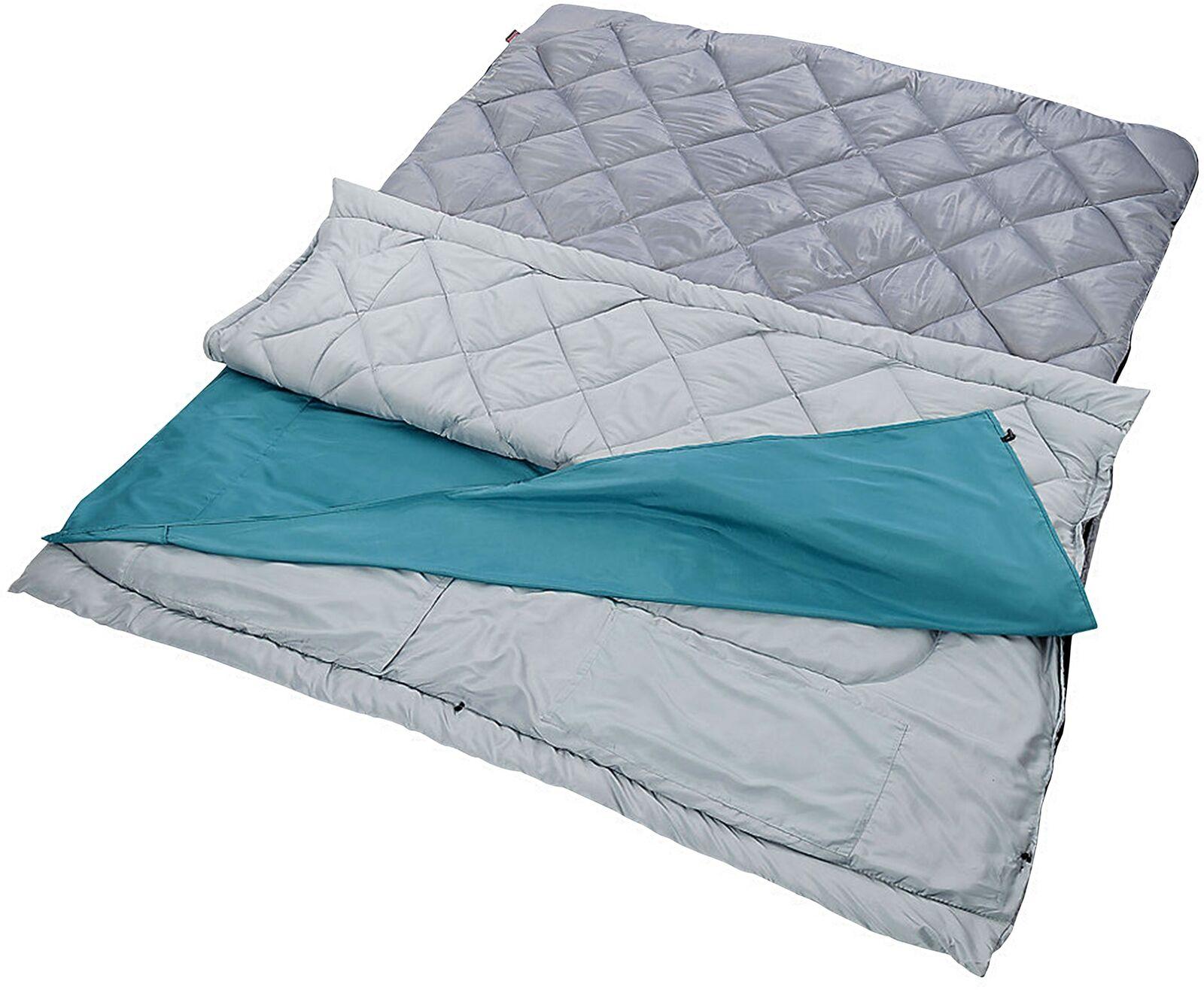 Sleeping sac Double Rectangular Soft Comfy de plein air Indoor Camping portable nouveau