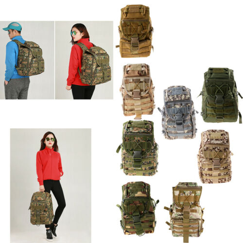 Oxford Cloth Waterproof Outdoor Backpack Camping Hiking Rucksack Bug Out Bag
