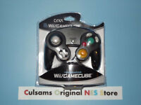 (black) Nintendo Controller For Wii Or Gamecube With A 30 Day Guarantee