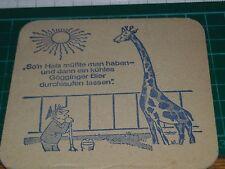 sottobicchiere beer mats birra bierdeckel  giraffa 16 03 2017