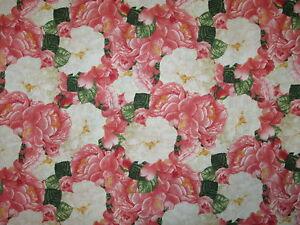 Paris roses flowers pinks bonjour cotton fabric bthy ebay image is loading paris roses flowers pinks bonjour cotton fabric bthy mightylinksfo