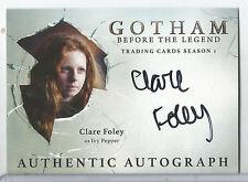2016 Gotham Season 1 Clare Foley as Ivy Pepper Auto/Autograph #CF