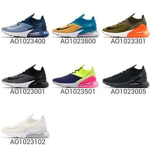 e8c10c3b4d8 Nike Air Max 270 Flyknit Mens Running Shoes Lifestyle NSW Sneakers ...
