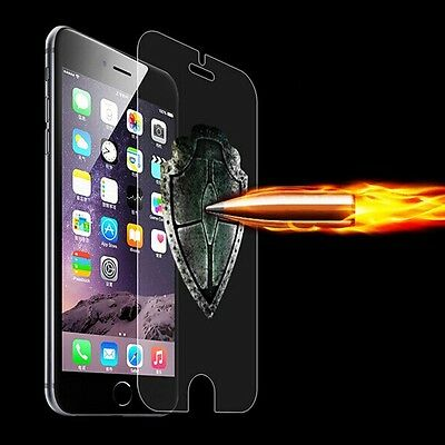 """Real Glass Thin Clear Tempered Screen Protector Skin For iPhone 6 Plus 4.7"""" 5.5"""""""