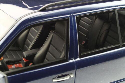 Mercedes S124 E36 AMG blau Modellauto OT753 Otto 1:18