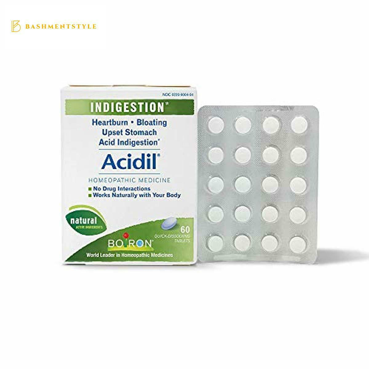 Boiron Acidil Indigestion Medicine for Heartburn and Acid Reflux 1
