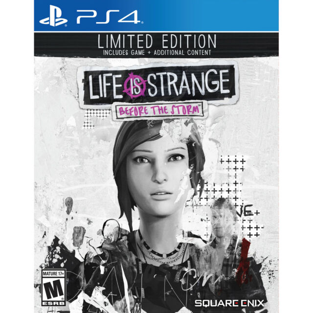PS4 Life Is Strange: Before the Storm  Limited Edition Sony PlayStation 4 2018