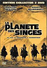 2 DVD ZONE 2 DIGIPACK COLLECTOR--LA PLANETE DES SINGES--HESTON/McDOWALL/SCHAFNER