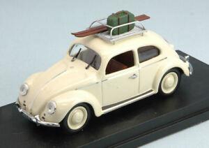 Modelo-De-Coche-Escala-1-43-Diecast-Rio-VW-Beetle-vacaciones-modellcar