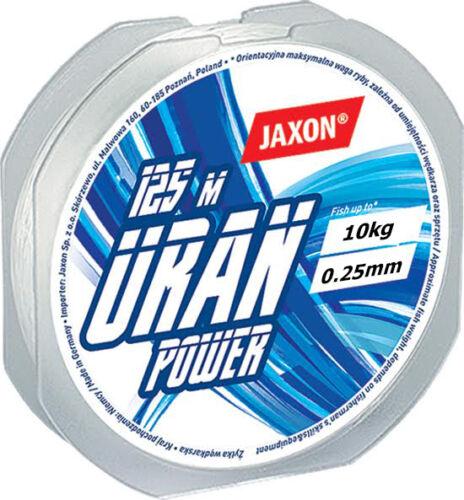 Angelschnur JAXON URAN POWER 125m 0,12mm-0,45mm Spule Monofile
