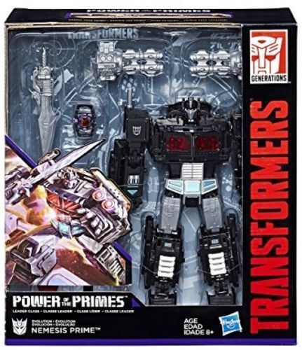 Transformers Generations Power of the Primes Evolution Nemesis Prime NEW