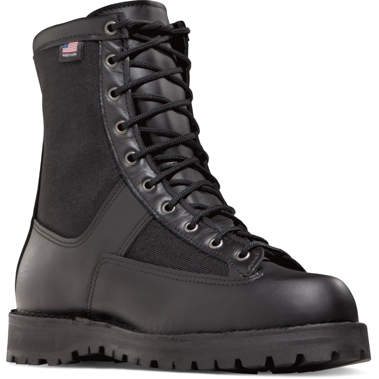 Danner Men's 21210 Acadia 8  Black Duty GTX Law Enforcement Tactical shoes Boots