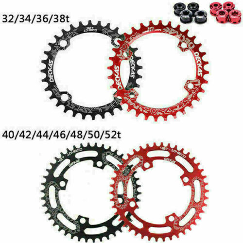 104BCD Sprocket 32-38T Narrow Wide MTB Bike Chainring AL7075-T6 Round Chainwheel