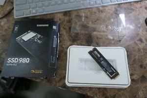 Samsung 980 1 To PCIE 3.0 nvme interne gaming SSD M.2 ** Lire ***