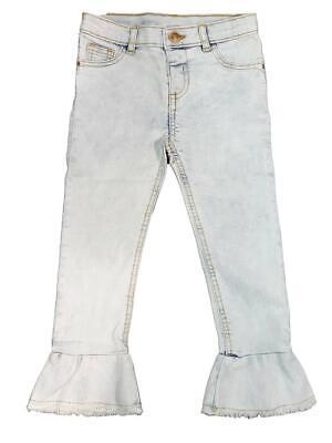 Candido Nuovo, Di Marca Bambina Neonati Molly Jeans Flare Light Denim