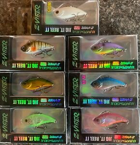 Details about Eurotackle Z-Viber ICE TROUT CRAPPIE Lipless Jig Crankbait  1 6 in 1/8 oz CHOOSE