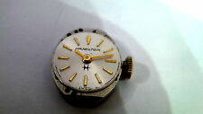 Hamilton 14  ladies  Watch Movement & Crown - Spares or repair AS 1012