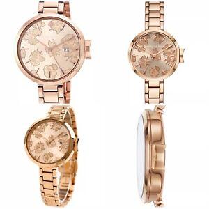 d042bc1c2 NWT Kate Spade Women's Park Row Rose Rose Gold Bracelet Watch ...