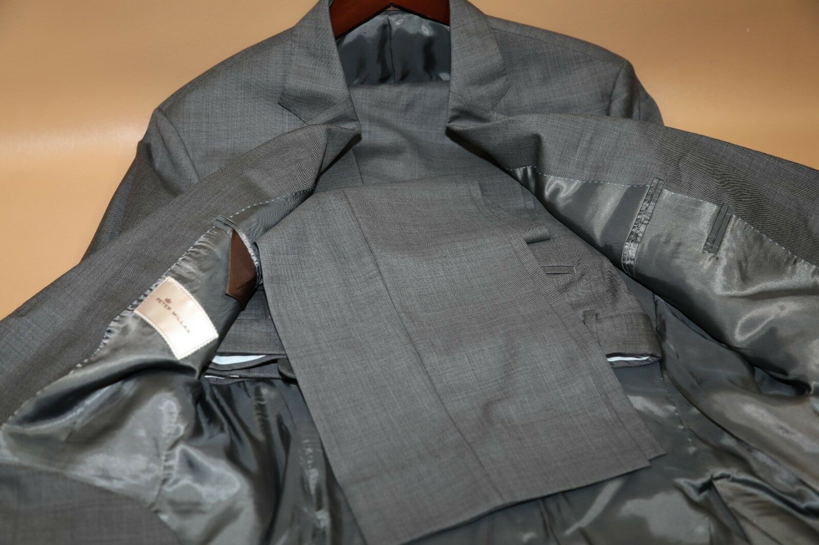 Peter Millar Flynn Two Button Suit Size 42 L
