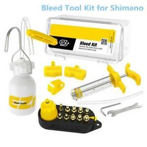 Bike-Hydraulic-Brake-Bleed-Tool-Kit-for-Shimano-AVID-DOT-Mineral-Oil-bara-Nice