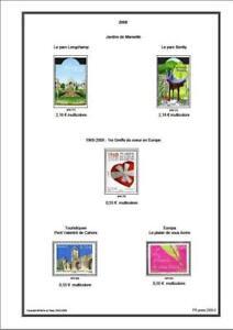 Album De Timbres France 1849 2020 A Imprimer Ebay