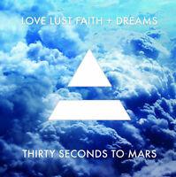 Thirty Seconds To Mars Love Lust Faith + Dreams Gatefold 30 Sealed Vinyl Lp