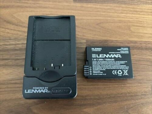 Lenmar CWLPE8 Battery Charger & DLZ302C Battery For CANON Camera (LP-E8)