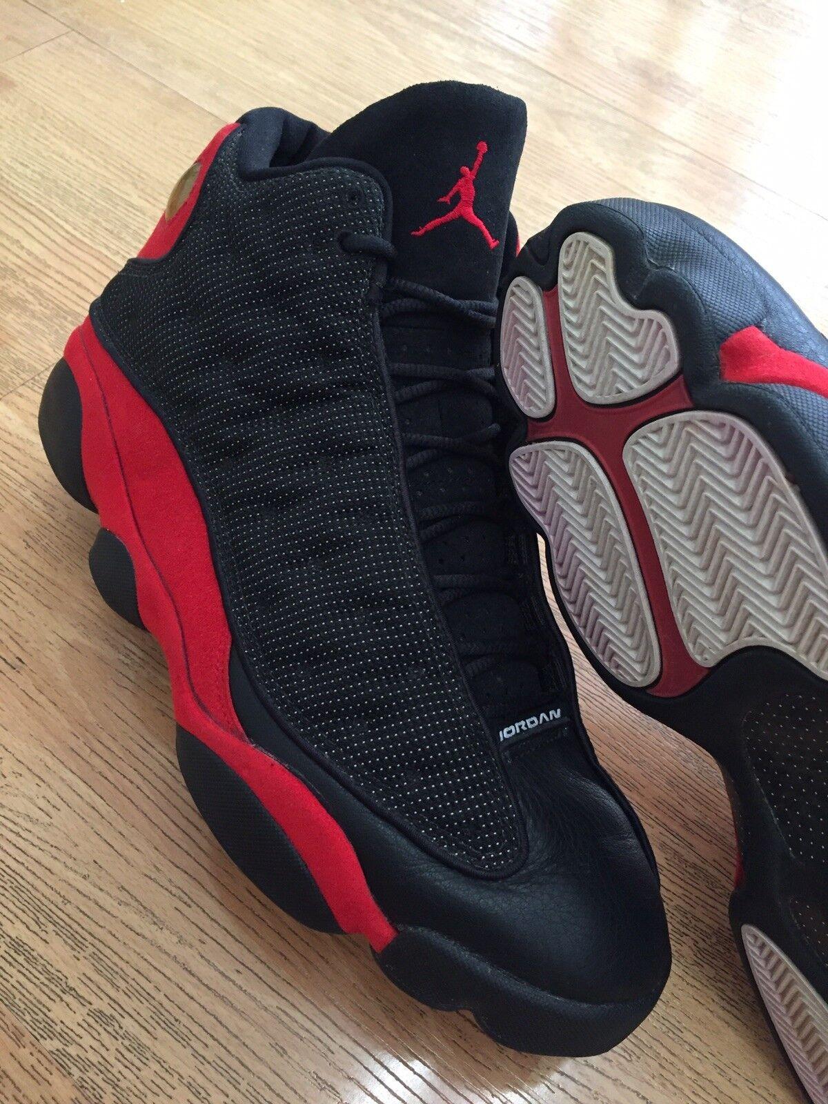 ORIGINAL 1998 NIKE AIR JORDAN XIII 13 CHICAGO BULLS SZ MJ NBA FINALS MEN SZ BULLS 13.5 OG 66682d