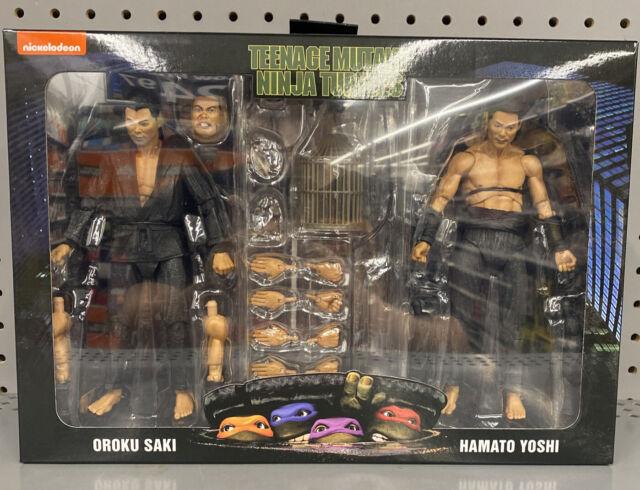 Neca Teenage Mutant Ninja Turtles TMNT Oroku Saki & Hamato Yoshi Walmart 2-Pack
