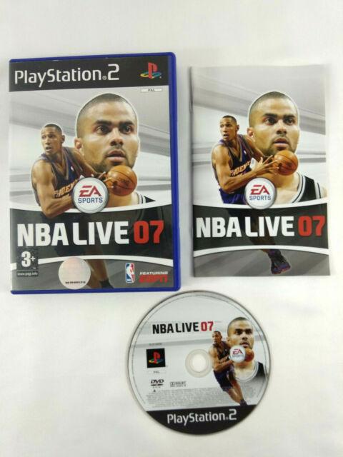 Jeu Playstation 2 PS2 VF  NBA Live 07  avec notice  Envoi rapide et suivi