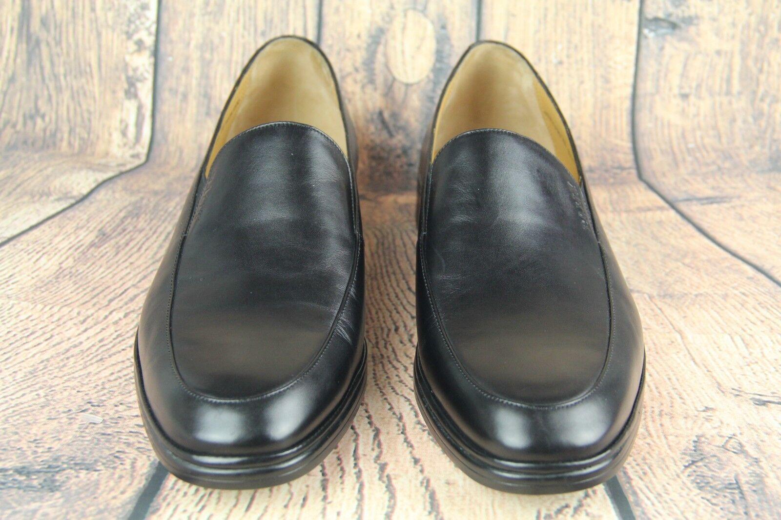 Prezzo al piano BALLY BALLY BALLY Uomo nero Leather SION Loafer EU 10 1 1E  US 11 1 2D NEW  negozio online