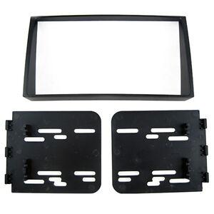 Car-Stereo-Radio-Fascia-Dash-Panel-Trim-Kit-2-Din-Frame-For-Kia-Soul-08-11