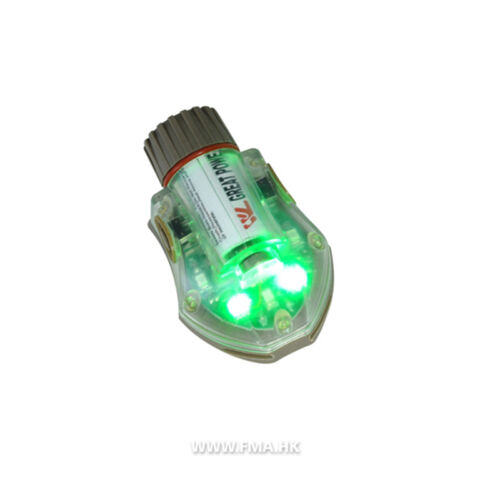 FMA Manta Strobe Type 2 Helmet Lights Flash Light with Magic Tape Backed