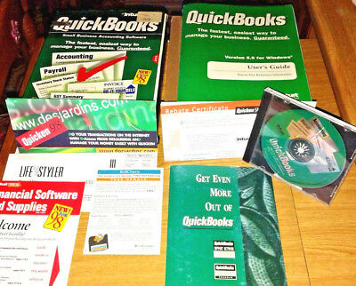 1999s, Usa Quick Books Version 5.0, Small Businees Accounting Software Irrestringibile