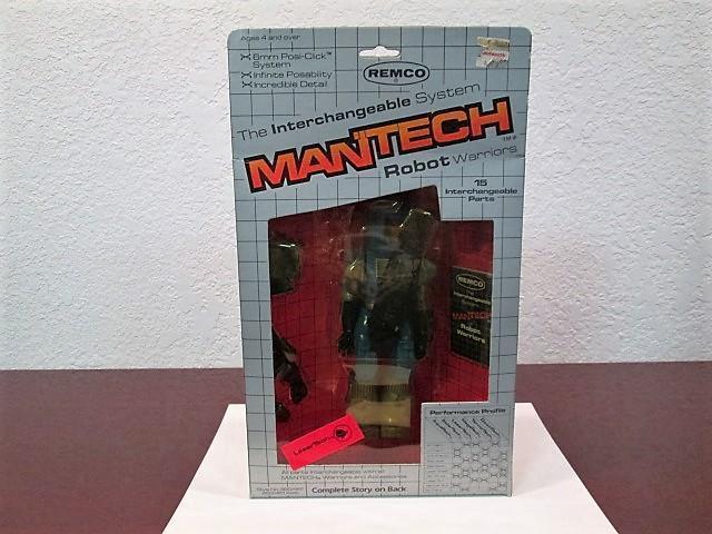 1983 MANTECH MANTECH MANTECH ROBOT WARRIORS
