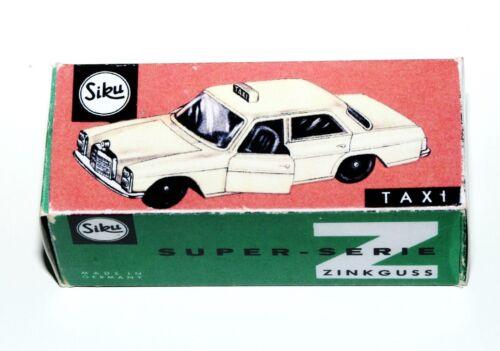 esecuzione-SUPER RARA p3-box REPROBOX Siku V 244-Taxi Mercedes 3