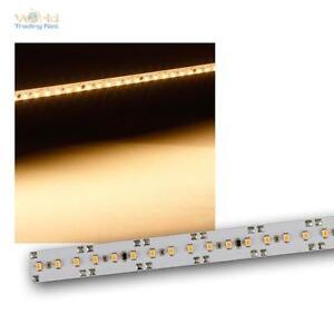 5x-Alukern-PCB-avec-66-SMD-LED-blanc-chaud-12V-Bande-lumineuse