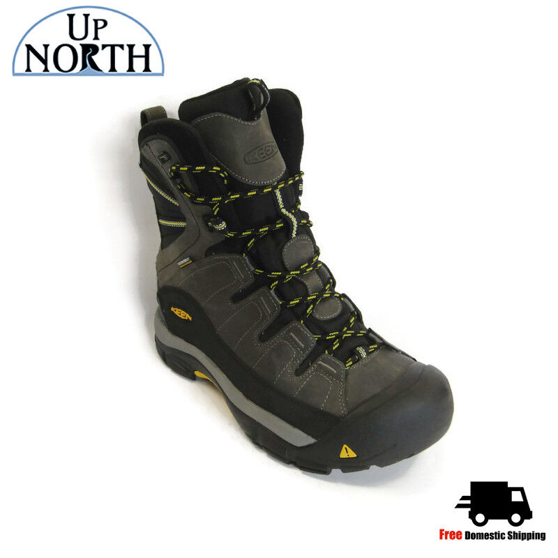 Keen Men's Insulated Winter Boots Summit County (1002646) Dark Shadow Yellow WP