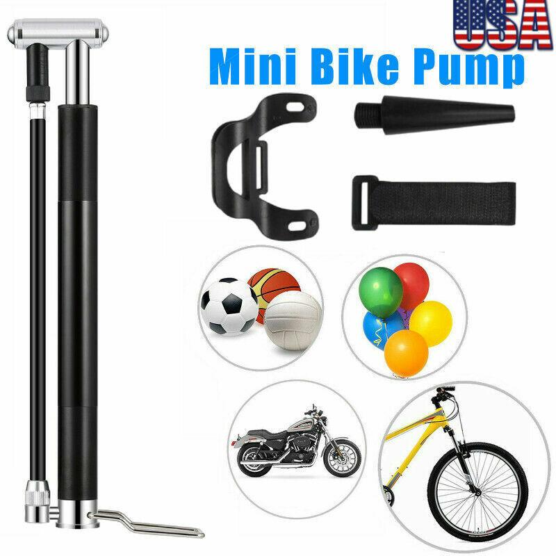 High Pressure Floor Standing Bike Pump Bicycle Motorcycle Tyre Hand Air