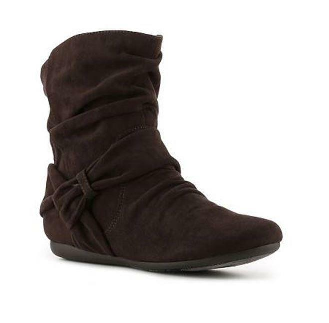 NEW Women's Report  Evalie  - WAS   - size 6 brown fabric ankle boot