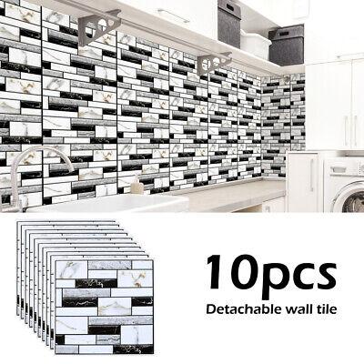 10x 3d carrelage mural autocollants cuisine salle de bain ...