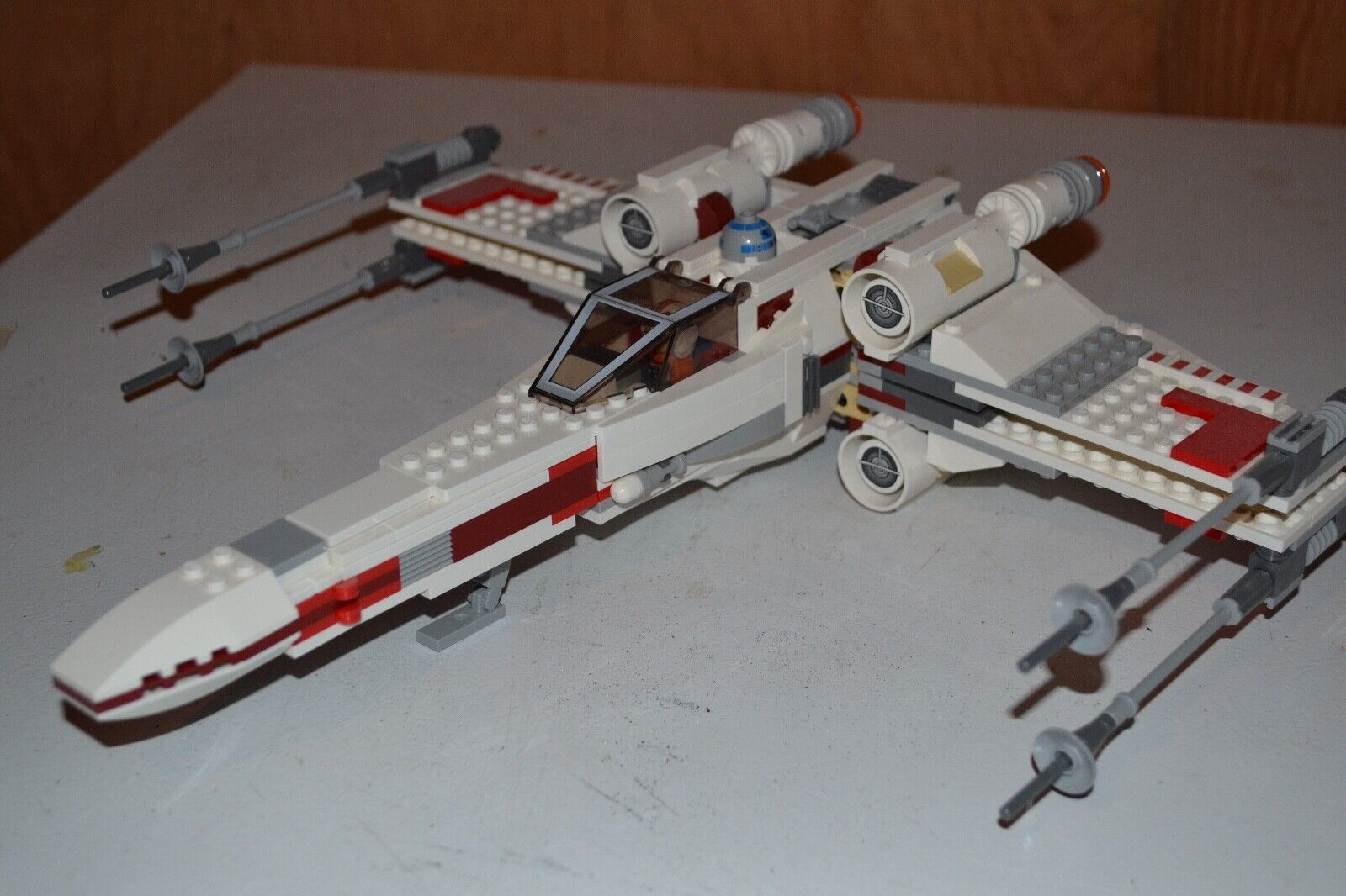 Lego Wars X Wing 9493 Complete Instructions Starfighter Star