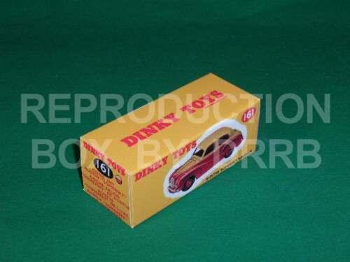 Dinky #161 Austin Somerset Negro//Blanco Caja de reproducción por drrb