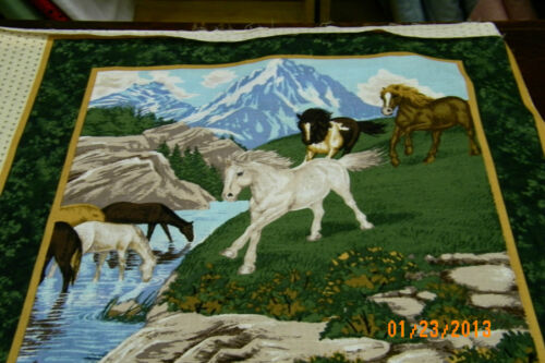 """Pillow panel  or  Quilt Blocks  2  16/"""" CP34450"""