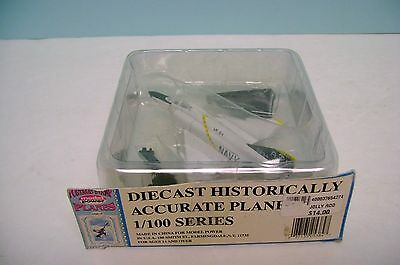 """MODEL POWER POSTAGE STAMP 1:100 SCALE DIECAST """" JOLLY ROD """" VF-84 US NAVY"""